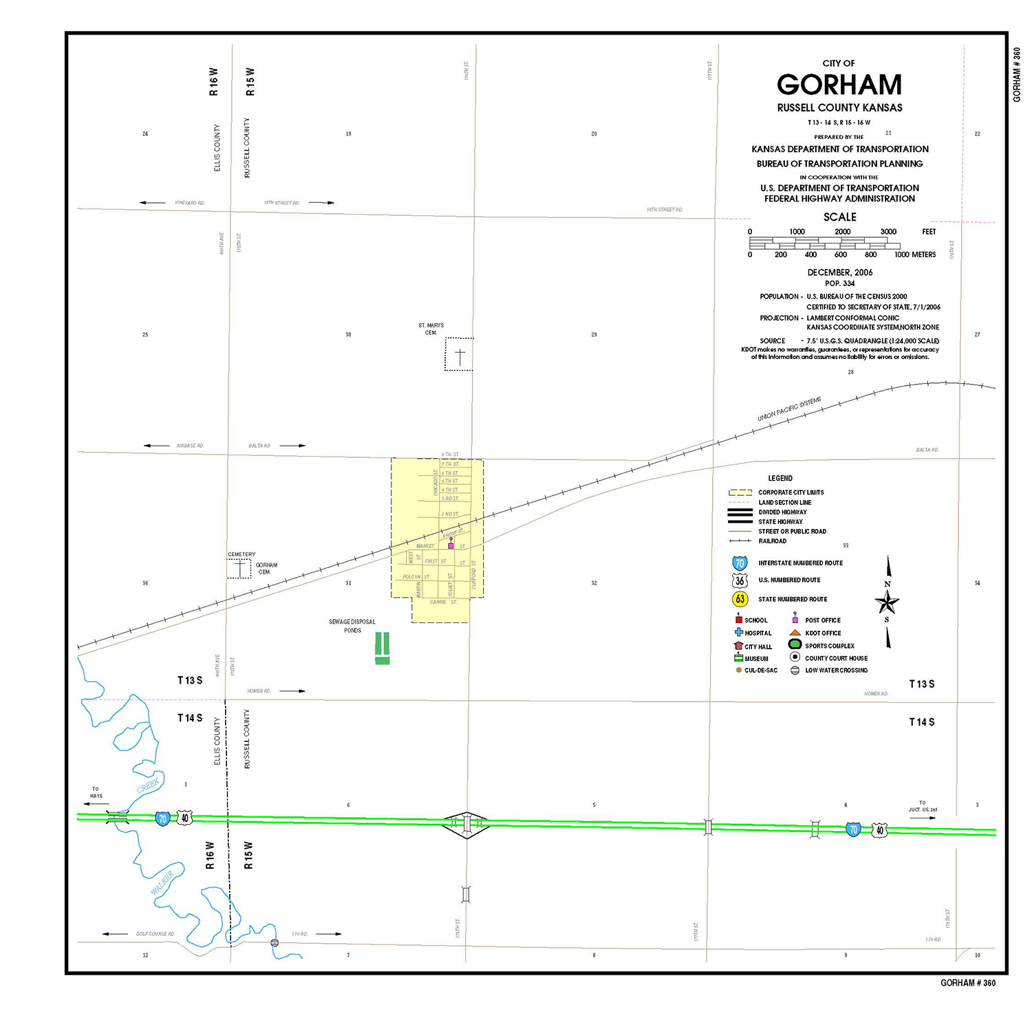 Gorham Map